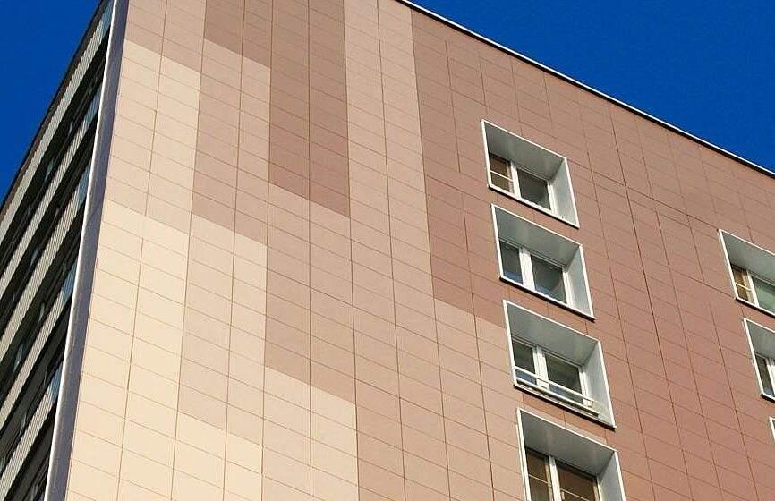 Керамогранит – преимущества, виды, особенности фасадного материала